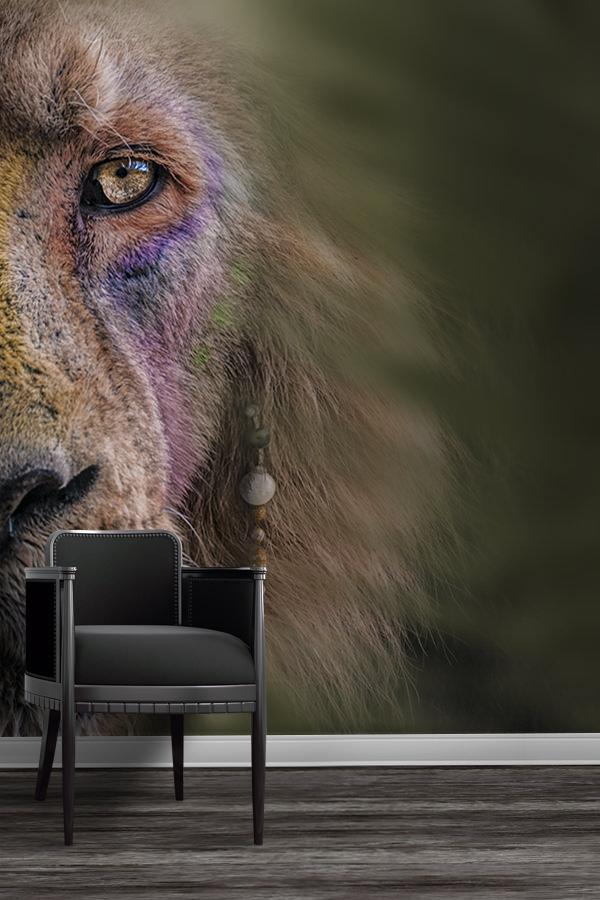 Photo-le-roi-lion-papier-peint