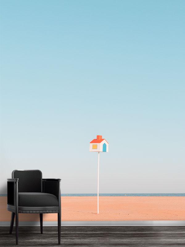 Photo-little-house-papier-peint